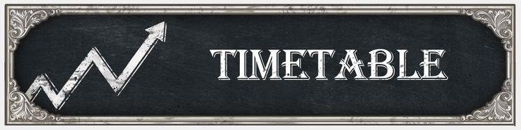 Intro TIMETABLE