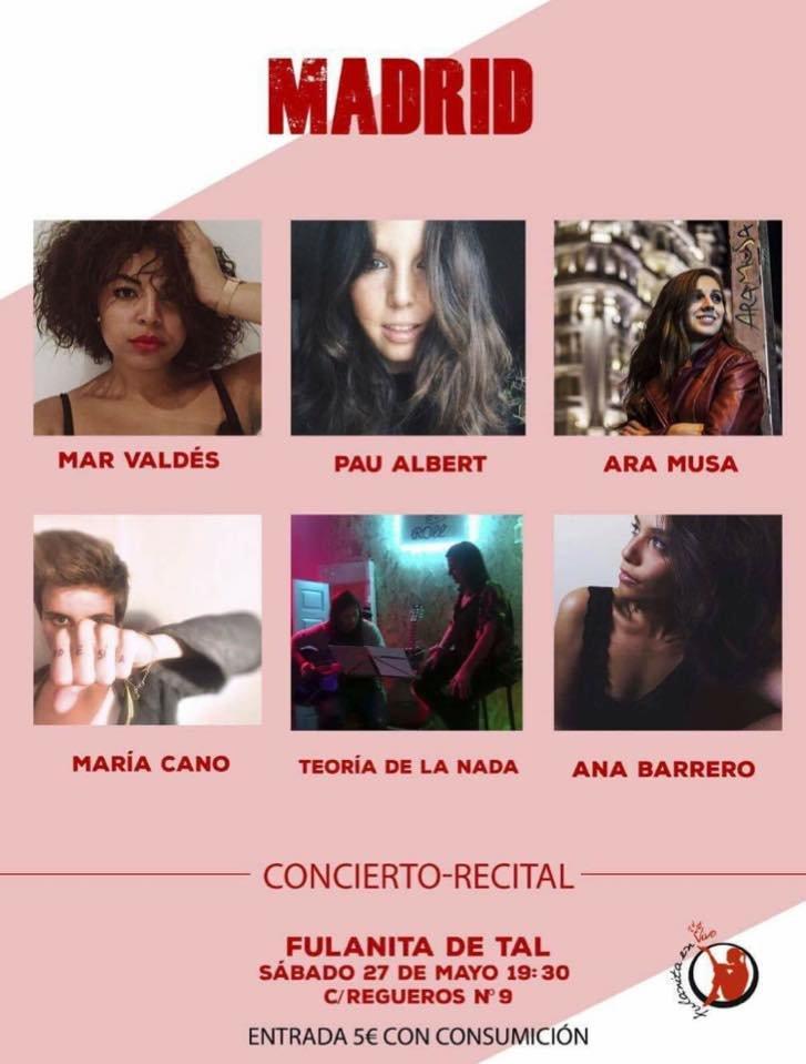 Presentación y recital/concierto :)