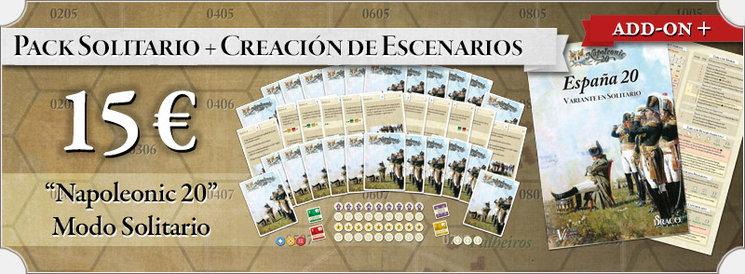Juego en solitario de España 20 Napoleonic 20