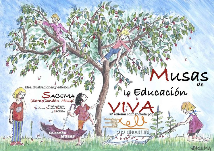 Parte del Proyecto realizado: 2ª edición de Musas de la Educación VIVA en LIBRO y BILINGUE.