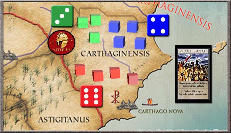Los hispanorromanos defienden Carthago Nova