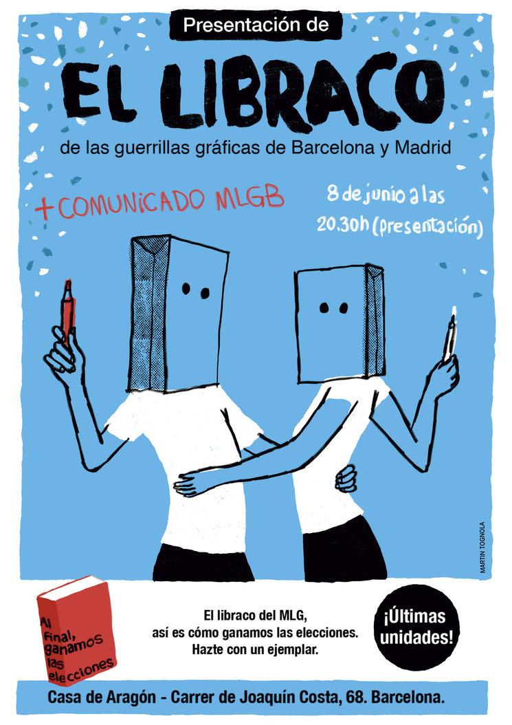 Presentación de #ElLibraco en Barcelona