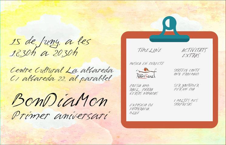Presentación #BonDiaLesbos en el I Aniversario de BonDiaMon