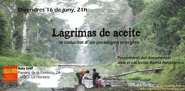 16J presentació Lágrimas de Aceite