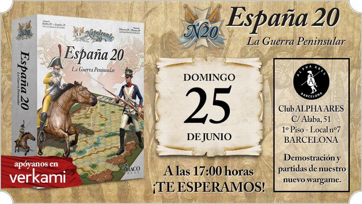 Jugar a Napoleonic 20 en Barcelona, club Alpha Ares