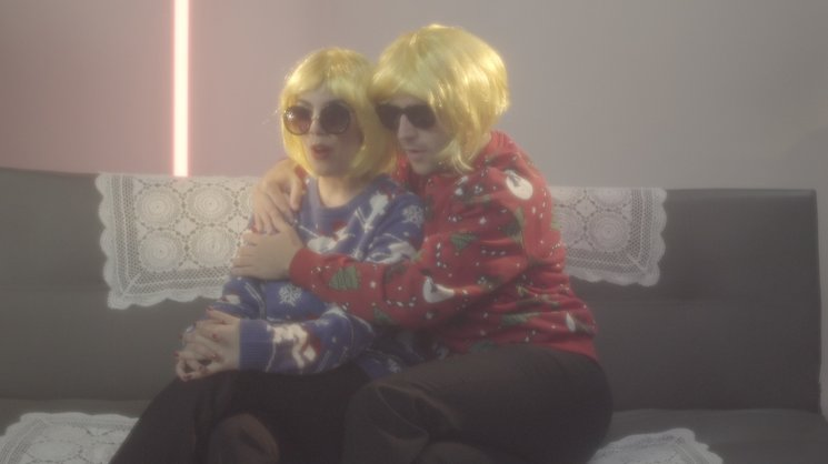 Captura del videoclip de Macaulay Culkin