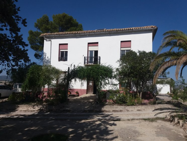 Espai de Llacorella, façana principal.