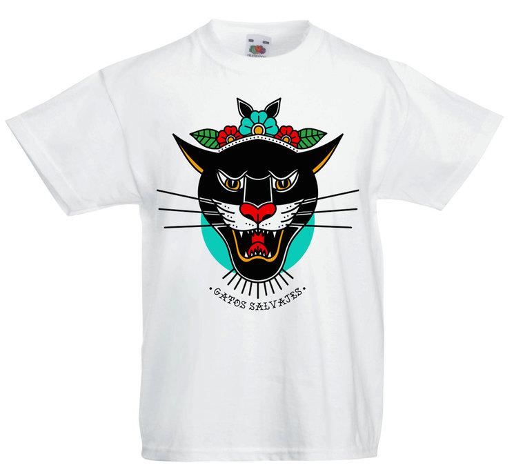 Camiseta Blanca Chico