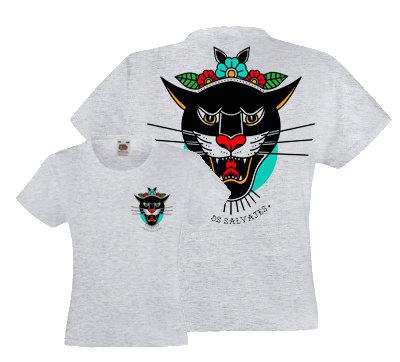 Camiseta Gris Chica