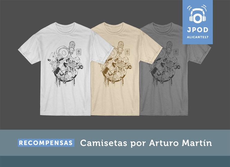 ¡ Camisetas para todos!