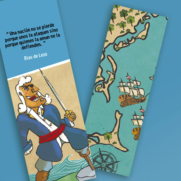 A elegir entre el buen Don Blas o el mapa de Cartagena de Indias.