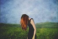 "Ana Becerra. Serie ""Pinté mi propio jardín..."". Fotografía digital."