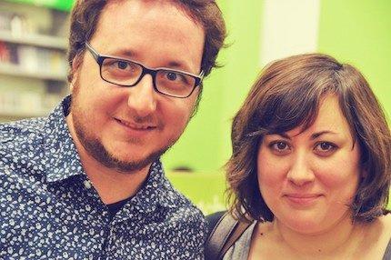 Daniel Jándula y Noa Alarcón / J. Torrents. La foto es de hace un par de años, ahora estamos más guapos.