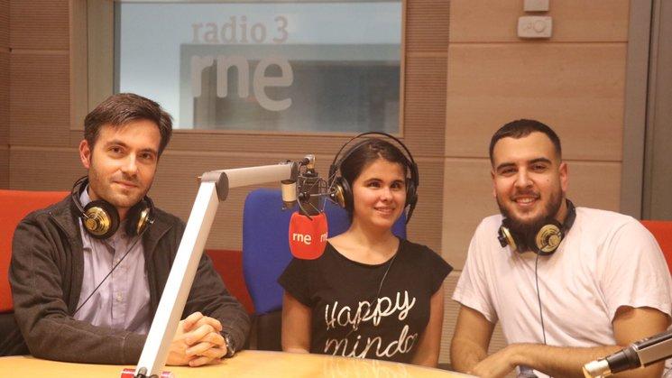 Mario Rajas, Lucía Gil y Dan Barreri.