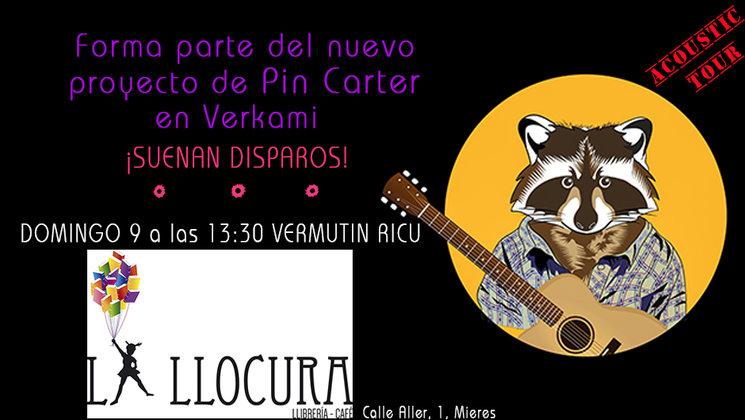 Próximo concierto: Domingo 9 de Julio a las 13:30 en Librería La LLocura, Mieres.