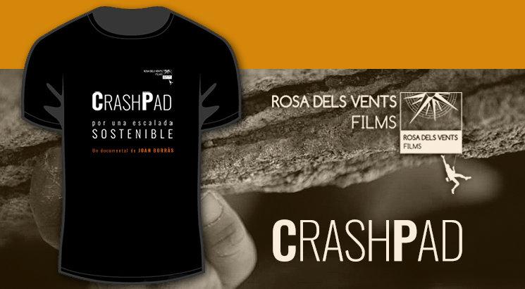 La camiseta del documental CRASH PAD