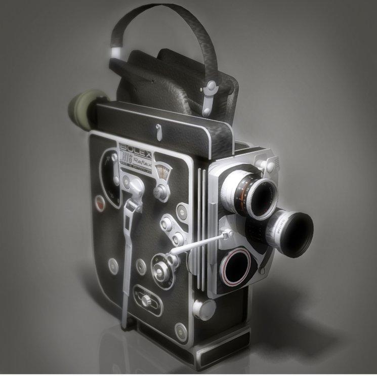 La Bolex H16, cámara que nos gustaría utilizar debido a sus grandes resultados, aunque su precio no es nada barato