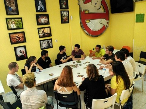 Presentación en Play Planet Coffee & Shop (Málaga)