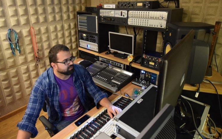 Dani Tortosa en Delaluna Estudios