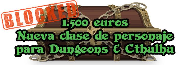 Ficha Dungeons & Cthulhu incluida
