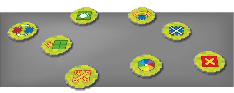 Nuevos diseños de fichas de habilidad