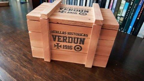 La caja de madera de Verdún 1916