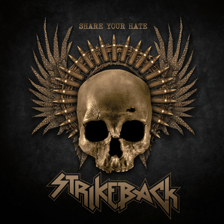 """Portada de nuestro primer álbum """"Share your Hate"""""""