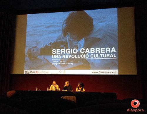 Homenaje al Director Sergio Cabrera en la edición del 2016.