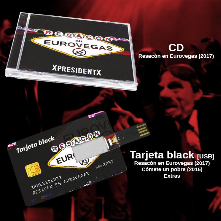 CD y Tarjeta Black