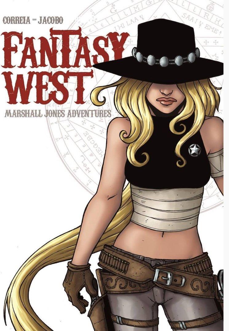 Fantasy West es un cómic ambientado en el Far West americano de finales del siglo XIX, con la peculiaridad de que criaturas fantásticas como gigantes, trolls o centauros conviven con indios y vaqueros.