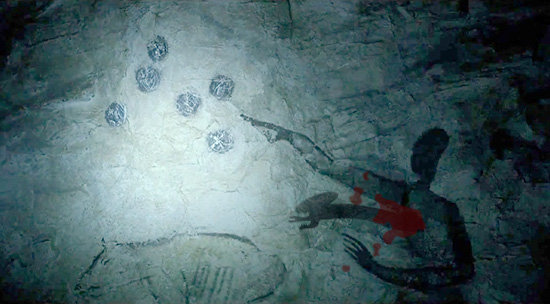 Pinturas rupestres de la película Prometheus