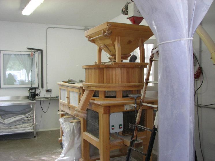 Molí Ecològic de farina de Gallecs