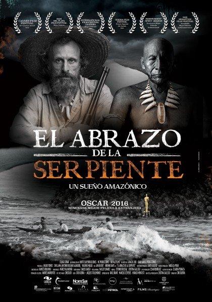 El abrazo de la serpiente fue nominada a los Premios Óscar 2016 y estará en Diáspora este año.