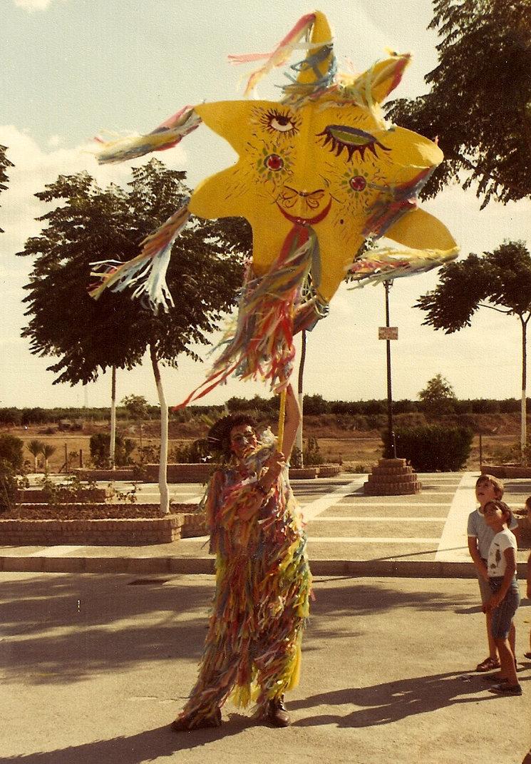 El disfraz de Sol de Ocaña (Fotografía Estudio Imagen Cantillana - Sevilla).