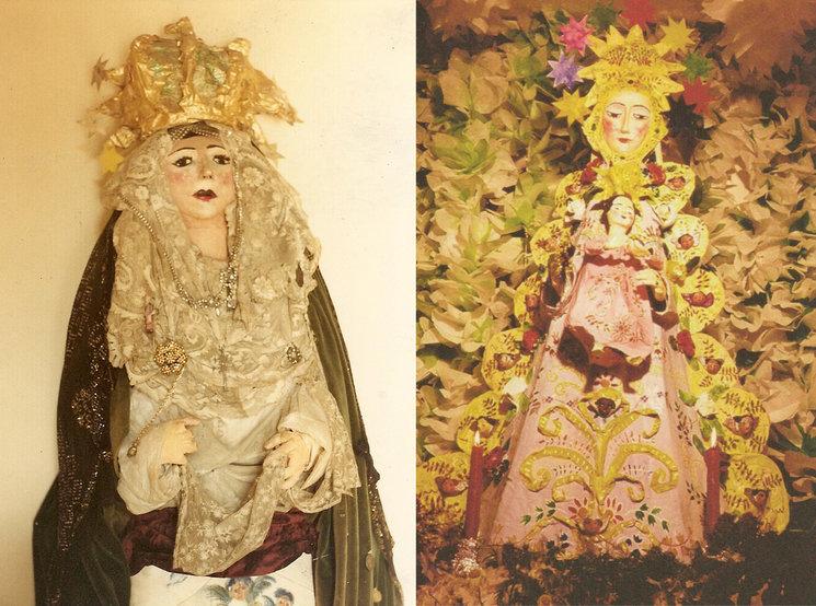 La Macarena y la Virgen del Rocío de Ocaña (destruidas).
