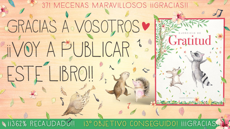 Gran éxito de la campaña gracias a vosotros! / Gran èxit de la campanya gràcies a vosaltres! /Great success of the campaign thanks to you!