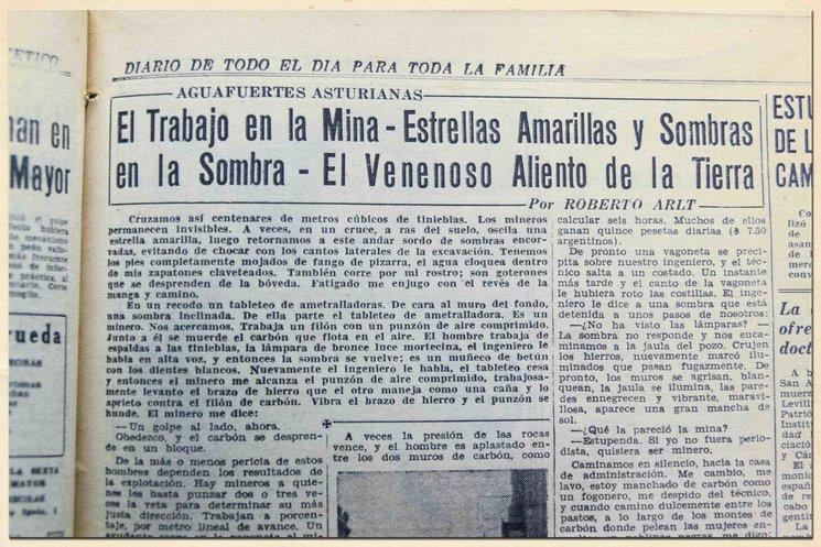 Diario El Mundo, Buenos Aires,1935.