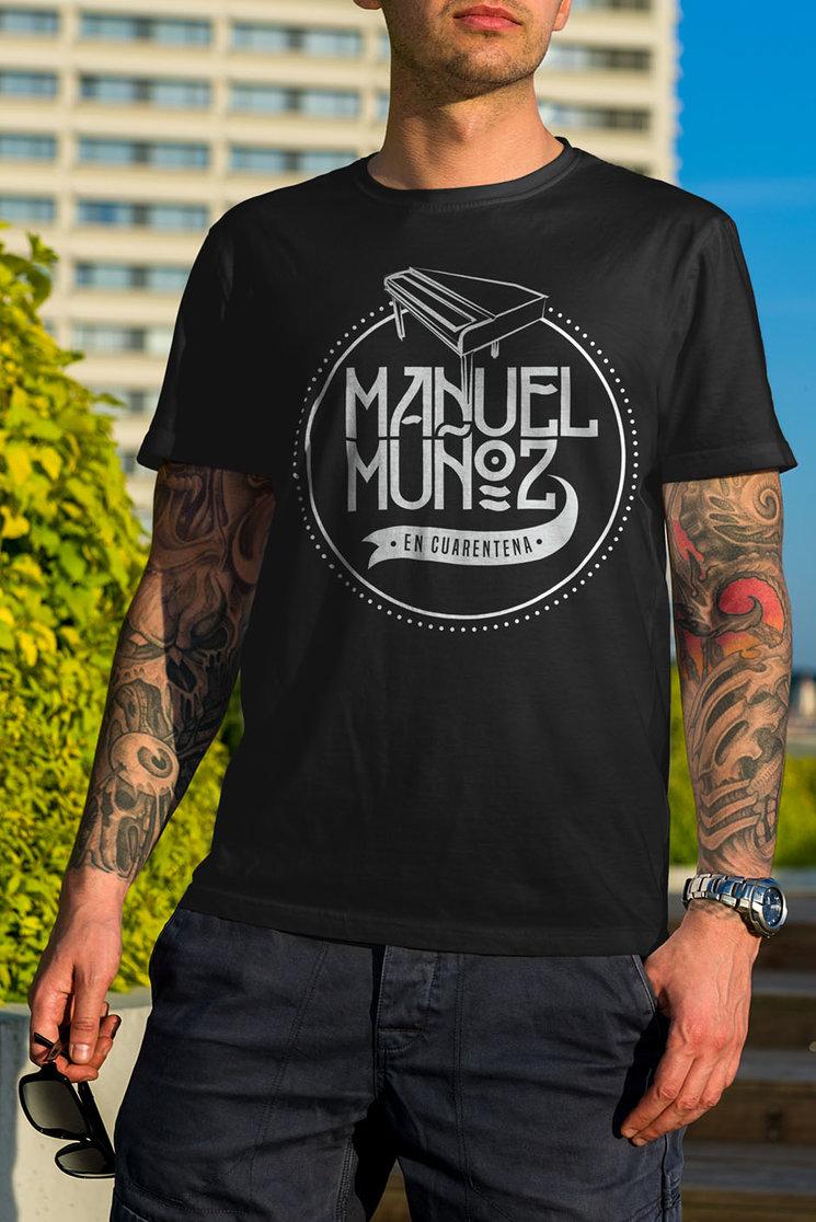 """Diseño Camiseta Hombre """" En Cuarentena """""""