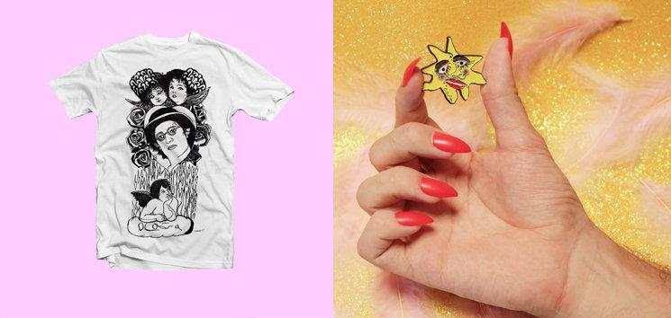 Camiseta creada en exclusiva para este crowdfunding con un dibujo de Pierrot (disponible en todas las tallas) y pin de edición limitada del Sol de Ocaña. Sólo se podrán conseguir aquí. Puedes reservar tu camiseta y pin haciendo click en el listado de recompensas que encontrarás en la parte derecha de esta página.