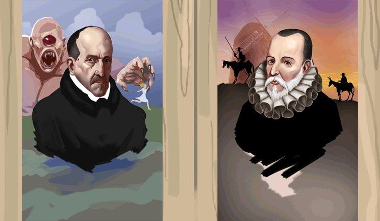 Luis de Góngora y Miguel de Cervantes
