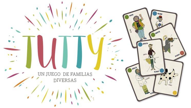 Tutty: un juego de cartas para jugar en casa o en el cole en fase de crowfunding.