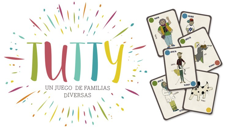 Tutty Un Juego De Familias Diversas Verkami