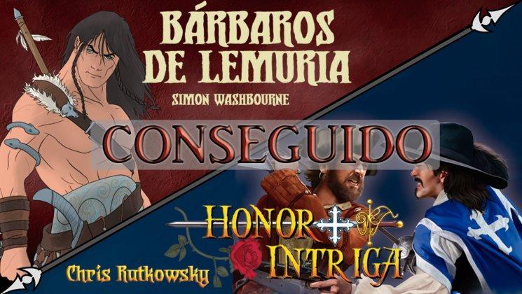 Bárbaros de Lemuria y Honor + Intriga ya son una realidad
