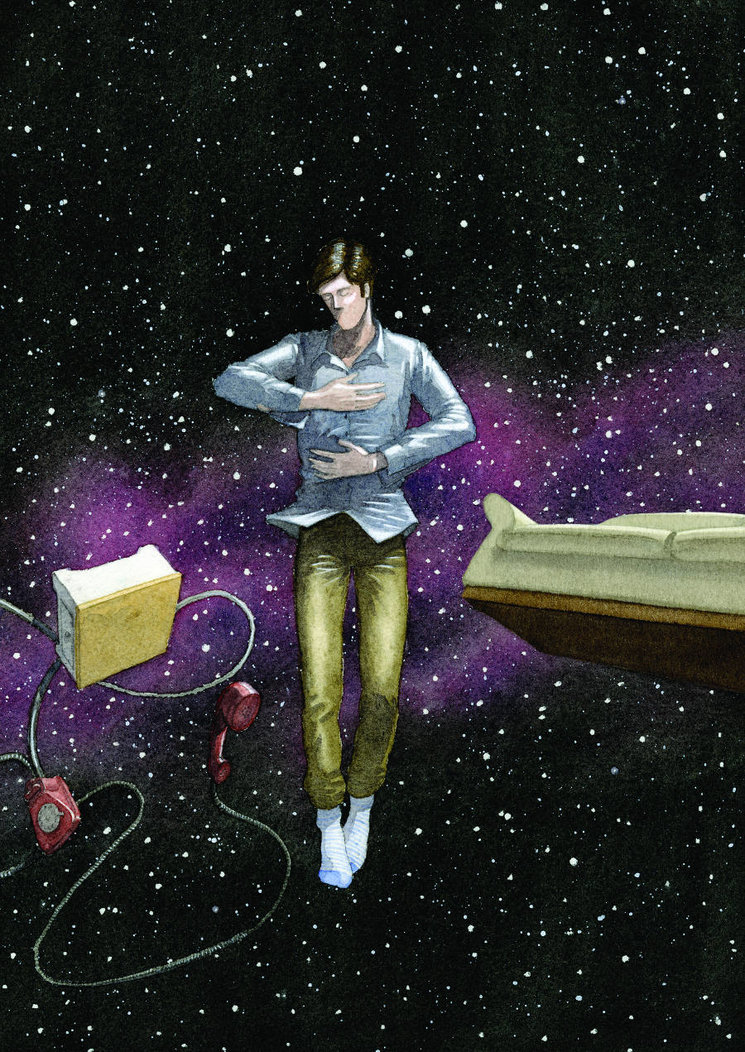 Ilustración de Mario Dubla para Apadrina un poema