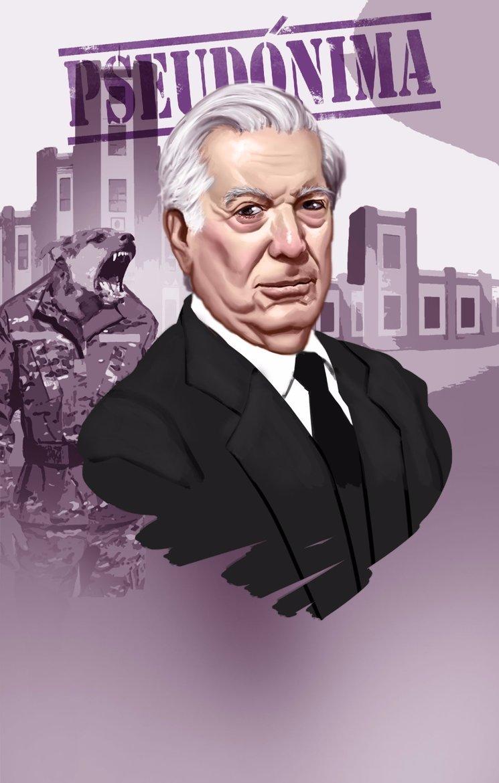 Mario Vargas Llosa en Pseudónima