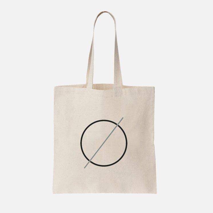 Bolsa ecológica. Logo Espacio Vacío.