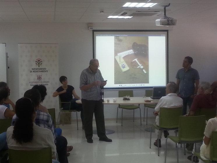 Con Ángel España en Córdoba