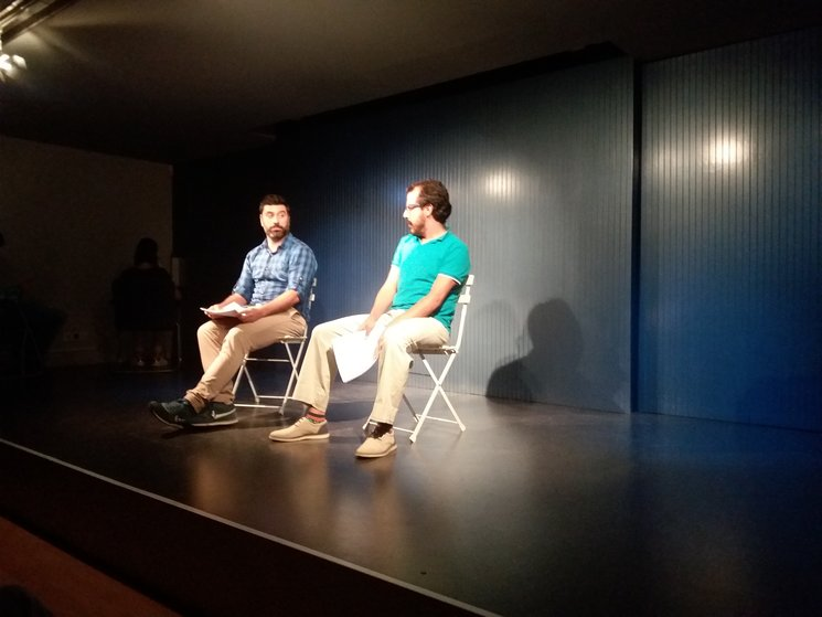 Lectura dramatizada en la casa América Cataluña