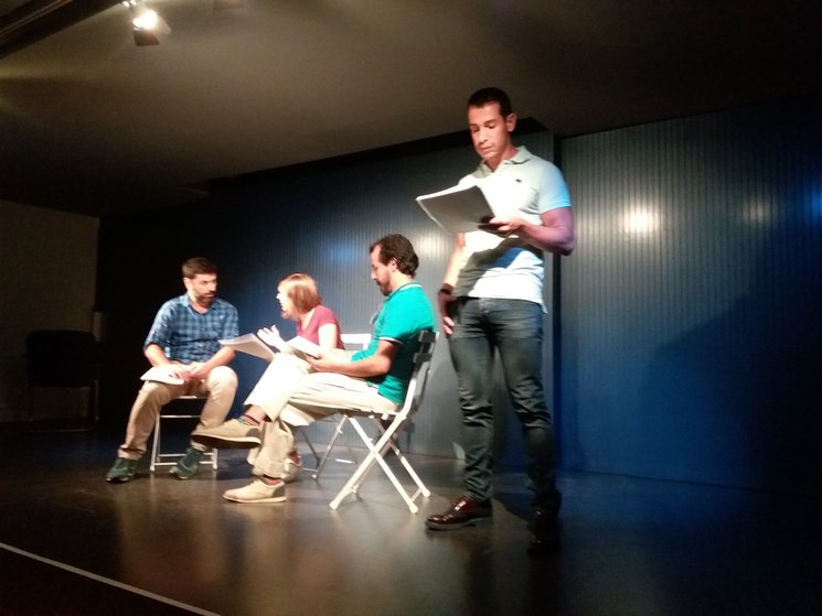 Lectura dramatizada en la Casa de América en Cataluña