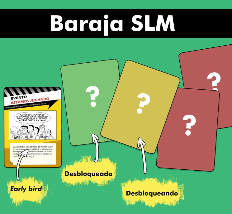 Así está el mazo de la Baraja SLM actualmente.